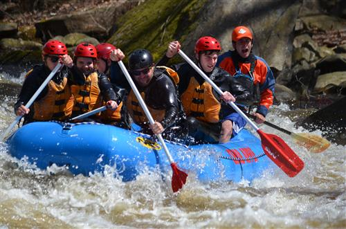 Transitional Alternative High School's White Water Rafting!
